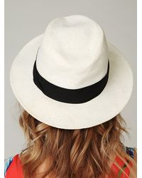 Free People - White Hispaniola Hat - Lyst