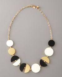 kate spade new york - Metallic Double-exposure Necklace - Lyst