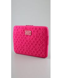 Marc By Marc Jacobs - Pink Stardust 13 Neoprene Computer Case - Lyst