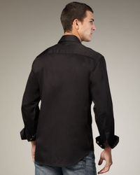 Robert Graham - Black Hewitt Sport Shirt for Men - Lyst