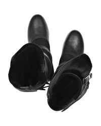 Vivienne Westwood | Black Shearling-lined Pirate Boots | Lyst