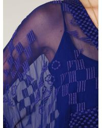 Free People - Blue Vibrations Kaftan - Lyst