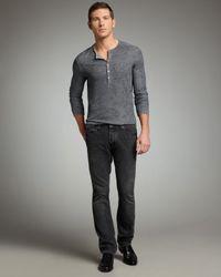 John Varvatos | Gray Harris Cast Iron Jeans for Men | Lyst