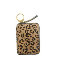 Madewell | Brown Cheetah Print Mini Wallet | Lyst