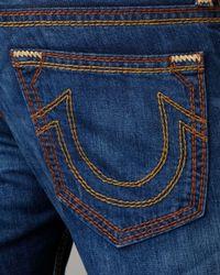 True Religion - Blue Ricky Rust Combo Qt Chesapeake Jeans for Men - Lyst