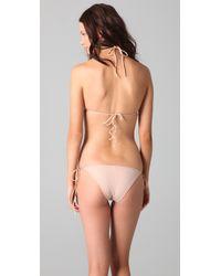 Cali Dreaming - Pink The String Bikini - Lyst