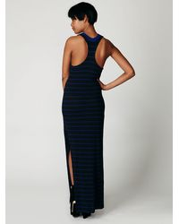 Free People - Black We The Free Lunar Maxi Dress - Lyst