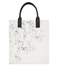 Simeon Farrar | Natural Cats and Dogs Canvas Tote Bag | Lyst