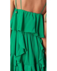 T-bags - Green Lucia Mini Dress - Lyst