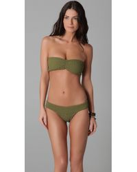Tori Praver Swimwear | Green Betty Bikini Top | Lyst