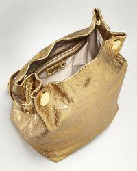 Elie Tahari - Tinsley Metallic Gold Chain Strap Tote - Lyst