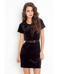 Nasty Gal - Black Tori Velvet Dress - Lyst