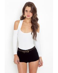 Nasty Gal | Crossroads Bodysuit - White | Lyst