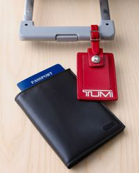 Tumi | Black Passport Case & Luggage Tag for Men | Lyst