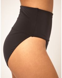 Yummie By Heather Thomson - Black Sheer and Smooth Brief - Lyst