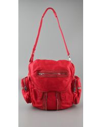 Alexander Wang - Red Marti Backpack in Persimmon - Lyst