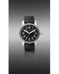 Burberry | Black Military Watch for Men | Lyst