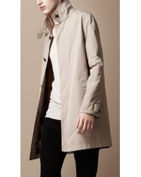 Burberry Brit | Natural Showerproof Trench Coat for Men | Lyst