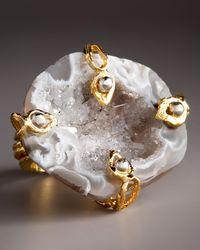 Devon Leigh - Metallic Free-form Drusy Geode Ring - Lyst