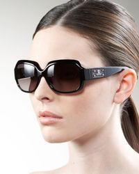 Fendi | Brown Plastic Sunglasses | Lyst