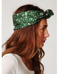 Free People - Green Chelsea Turban - Lyst