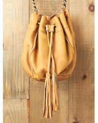 Free People | Brown Donna Bucket Bag | Lyst