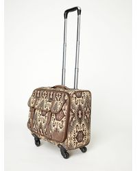 Free People | Brown Sixties Roller Bag | Lyst
