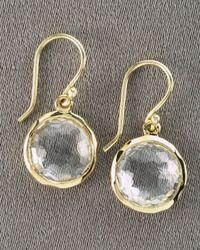 Ippolita - Yellow Mini Lollipop Earrings - Lyst