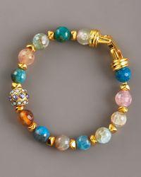 Jose & Maria Barrera - Multicolor Agate Bracelet, Small - Lyst