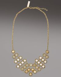 Kendra Scott | Metallic Tiffany Necklace, Dove | Lyst