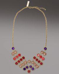 Kendra Scott   Brown Tiffany Necklace, Coronet   Lyst