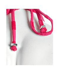 Marc By Marc Jacobs - Pink Dreamy Logo Bikini Bottom - Lyst