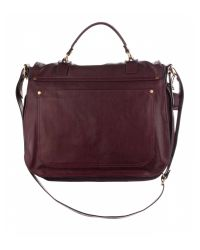 Proenza Schouler | Red Ps1 Extra Large Leather | Lyst