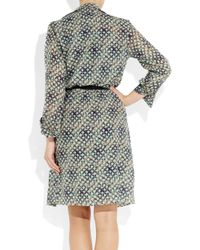 Roland Mouret - Gray Kail Two-piece Cotton-blend Voile Dress - Lyst