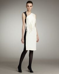 Sachin & Babi | White Laurence Fringe & Sequin Dress | Lyst