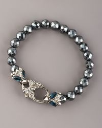 Stephen Webster | Gray Hematite Bead Bracelet | Lyst