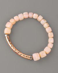 Tai - Pink Opal Bracelet - Lyst