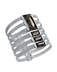 Baccarat - Metallic Limited Edition So Insomnight Silver Mordore Bracelet - Lyst