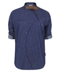 Humor | Blue Rowdy -058 Chambray Shirt for Men | Lyst
