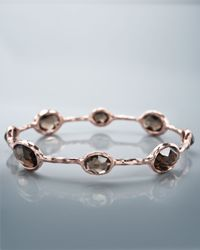 Ippolita | Pink Eight-stone Rose Bangle | Lyst