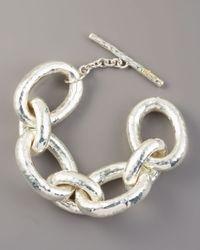 Ippolita - Metallic Glamazon Chunky Link Bracelet - Lyst