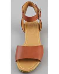 See By Chloé | Brown Broad Band Flat Sandals | Lyst