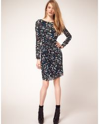 Whistles - Blue Veronica Safia Print Dress - Lyst