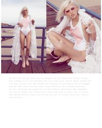 Wildfox | White One Piece Swim Suit With Heart | Lyst