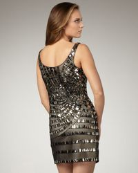 Alberto Makali - Black Mirrored Spiral Dress - Lyst