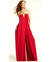 BCBGMAXAZRIA - Red The Alisha Jumpsuit - Lyst