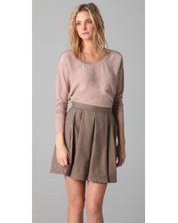 Club Monaco | Pink Ilanna Top | Lyst
