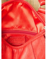 Free People - Red Raven Leather Bag - Lyst