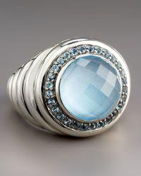 John Hardy - Bedeg Blue Topaz Ring - Lyst