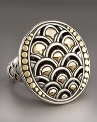 John Hardy - Metallic Naga Oval Ring - Lyst